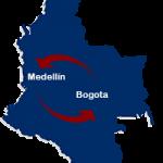 Medellin a Bogota